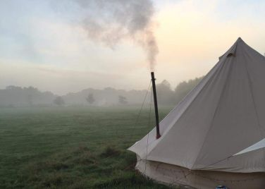 Amber's Bell Tents Wiveton Hall