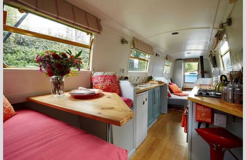 Design Your Own Narrowboat Interior