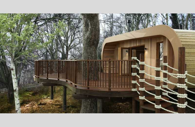 The Fish Treehouses And Huts Image 1