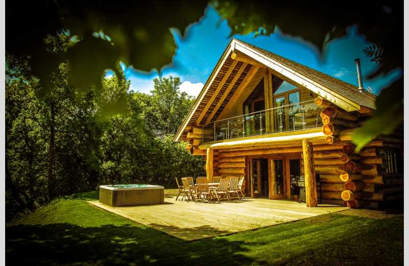 Hidden River Cabins Log Cabins With Hot Tubs In Cumbria Lake District