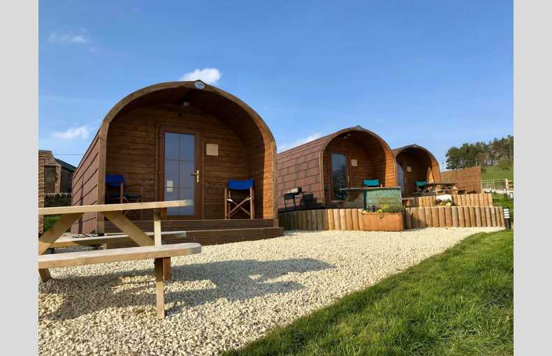 Kiss Wood Cabins | rural Peak District glamping pods | Cheshire