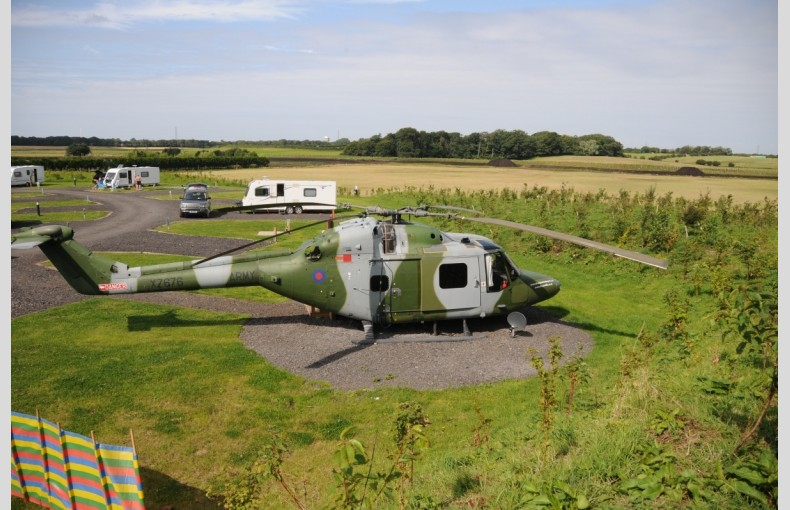 Lynx Helicopter at Ream Hills - Image 1