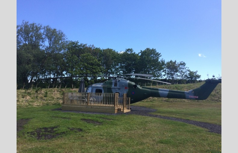 Lynx Helicopter at Ream Hills - Image 6