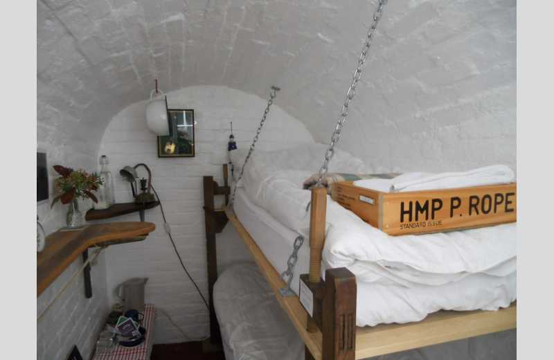 penny rope prison cell themed bed chamber margate