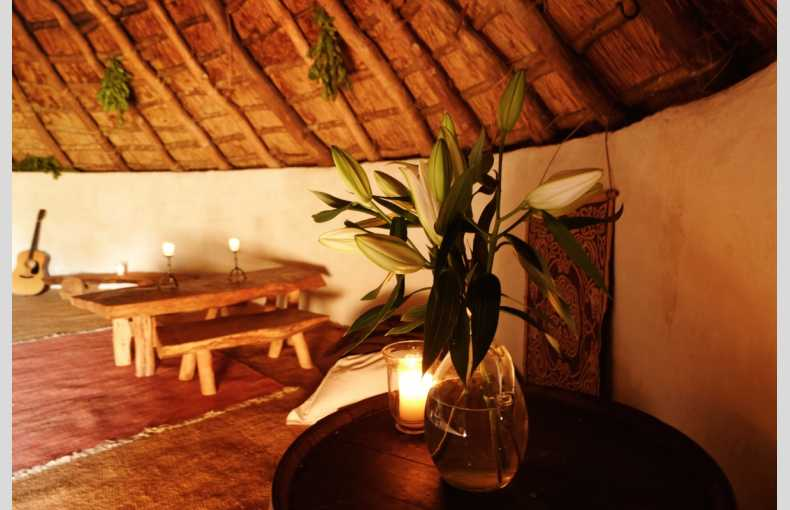Upcott Roundhouse unique Iron Age-inspired glamping in Devon