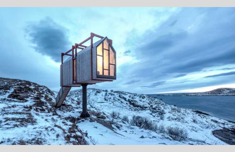 the arctic hideaway a cluster of unique architect designed cabins