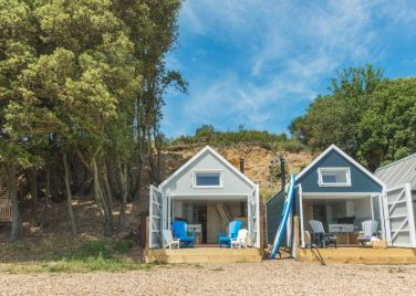 Calshot Luxury Beach Huts