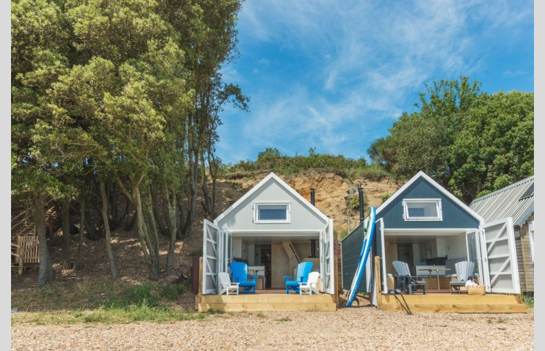 Calshot Luxury Beach Huts - Image 1