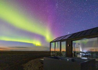 Glass Cottage Iceland