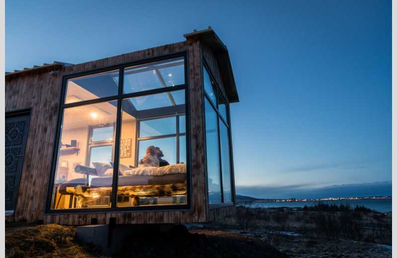 Image result for panorama glass lodge in iceland