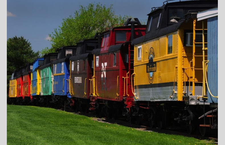 Red Caboose - Image 1