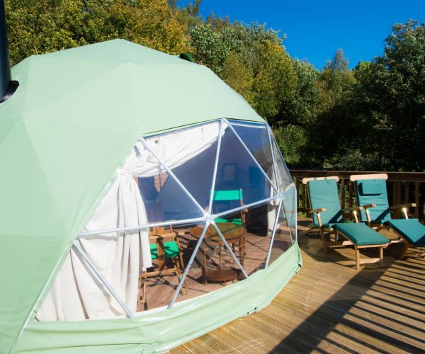 Twenty of the Best Post-Lockdown UK Glamping Stays – with Private Facilities