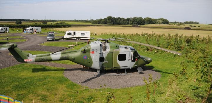 Lynx Helicopter at Ream Hills