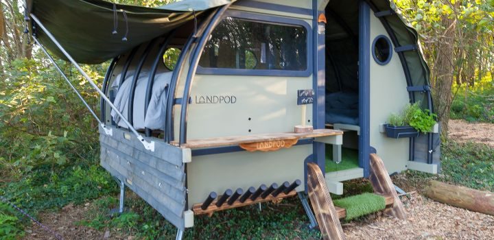 The Landpods at Wildflower Wood