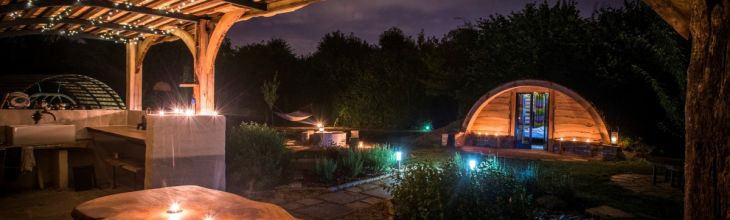 New to Host Unusual: Adventure glamping, a designer castle and hobbit hideaway.