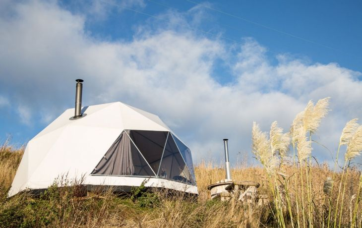 New to Host Unusual: Glorious Glamping in Huts, Domes and Wigwams