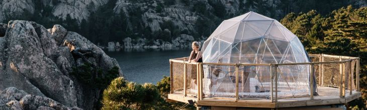 European Glamping: Elevated Cocoons, Regal Bedouins and Nomadic Inspiration