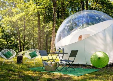 fa19318d4fd Bubbles and Domes glamping accommodation | Host Unusual