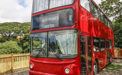 Getaways For Every Taste: Party Barns, Private Pools, Vintage Buses and UFOs!