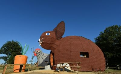 Vive la France: Rustic Windmills, Historic Château and - Rabbits!