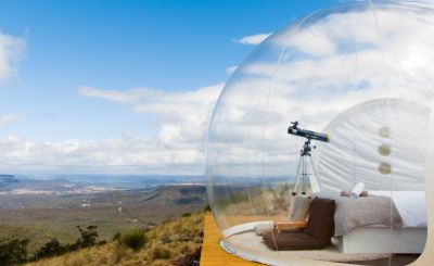 New to Host Unusual: Worldwide Wonders - bubbles, cranes and yurts