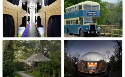 New to Host Unusual: Bedroam, Finn Lough, The Ceridwen Centre and Jolly Days Glamping