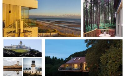 New to Host Unusual: Shetland Lighthouses, Sea Gem, Chewton Glen Treehouses and Happy Valley