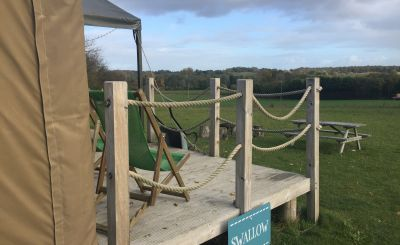 Tried and Tested: Five Go Glamping at Lantern and Larks Sweffling Hall