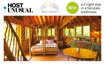 WIN a 2 night stay in a fairytale treehouse