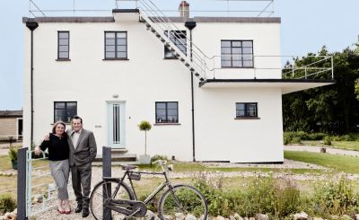 Meet the Owners: The Control Tower B&B, Norfolk