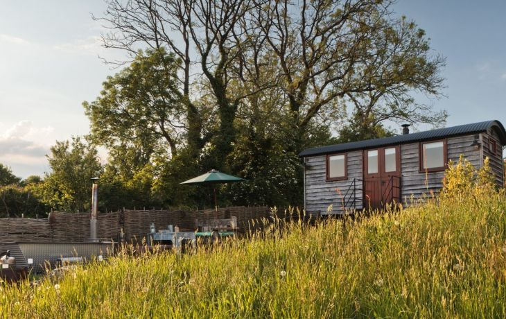 Meet the Owners: Tor View Shepherd's Huts, Somerset