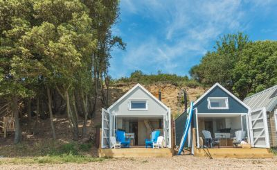 Ten Beautiful UK Beach Hut Stays