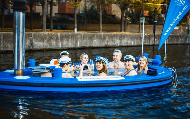 WIN a VIP HotTug Floating Hot Tub Experience in London