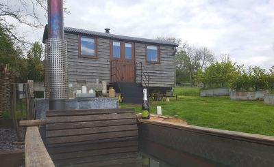 Tried and Tested: Len at Tor View Shepherd's Huts, Somerset