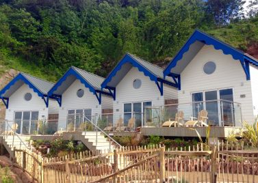 Cary Arms & Spa Beach Huts
