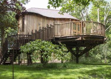 The Woodlands Treehouse at Hothorpe Hall