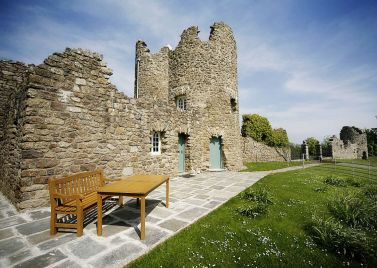 Penrice Castle Towers