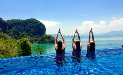 Yoga and Wellbeing Getaways to Kickstart Your Year