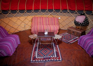 Long Valley Yurts Sykeside