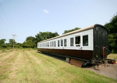 Brockford Railway Carriage