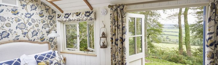 New to Host Unusual: shepherd's huts, cotton bell tents, cosy dens and rustic cabins