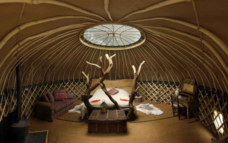 Win a Luxurious Yurt Stay for Two in our Third Birthday Competition!