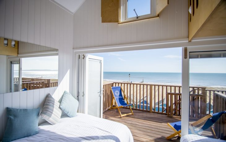 Autumnal beachfront bliss at Bournemouth Beach Lodges