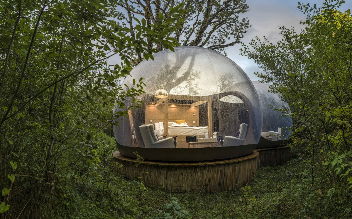 Finn Lough County Fermanagh Bubble Domes And Lakeside Lodges